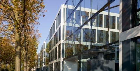 Fassadenansicht Joseph-Beuys-Allee