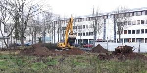 Bauarbeiten Haus der Höfe
