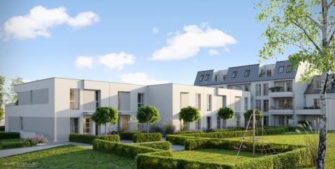 Visualisierung Townhäuser ambiente Bonn